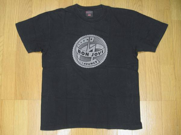 【 BON JOVI 】2003ツアー プリントTシャツ 黒