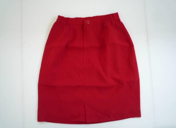 【お得!!】●RICO CA RISA● 台形スカート 赤 膝丈 W60-65