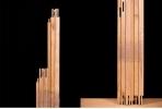 絵画 キャンバス 桐材木枠 F60号, 美品, 芸術 アート 画枠 D