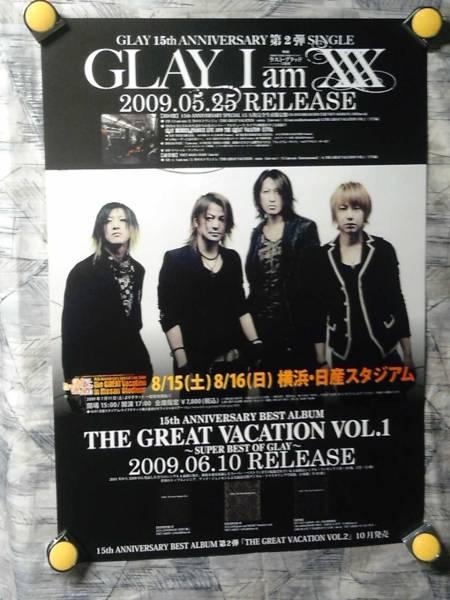 p5【ポスター/B-2】GLAY-グレイ/'09
