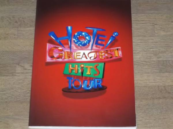 布袋 寅泰 HOTEI GREATEST HiTS TOUR パンフレット ポストカード6枚付き