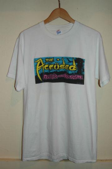 ユーズド 80年代 ACCUSED アキュースド Tシャツ