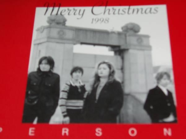 PERSONZ パーソンズ☆ファンクラブ1998年クリスマスカード 送料無料