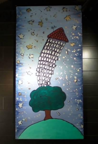 イタリア語 Galleria Norsa Milano: LA CASA SULL'ALBEROビデオ_画像1