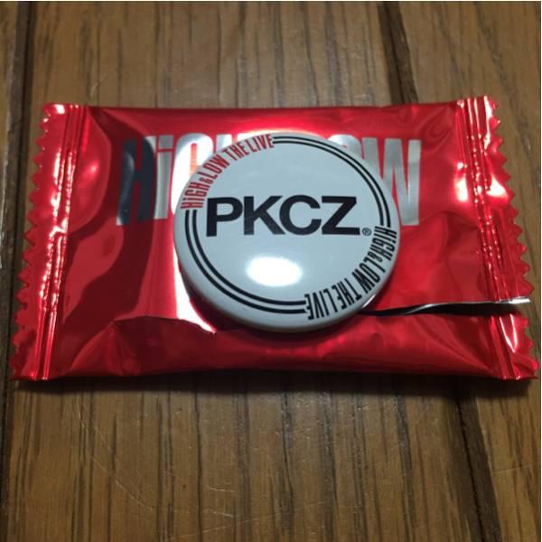 HiGH&LOW THE LIVE PKCZ 缶バッジ DJ MAKIDAI VERBAL DJ DARUMA