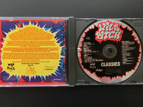 【Hip Hopミドル&ニュースクール名レーベルコンピ】V.A./Wild Pitch Classics