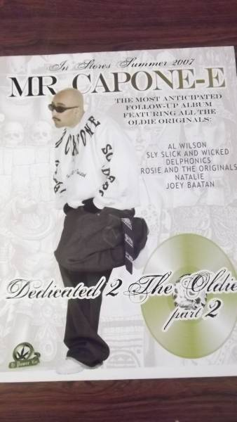 ☆MR.CAPONE-E Dedicated 2 The Oldies Part2のポスター②