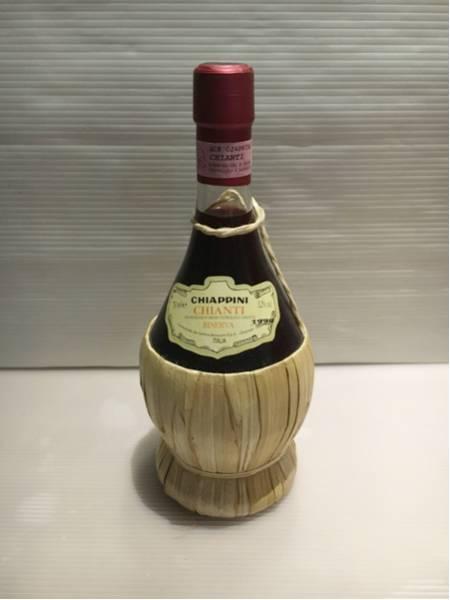 古酒 キャンティ 赤ワイン 750ml CHIANTI CHIAPPINI_画像1