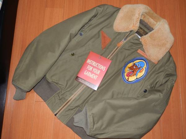 送料無料★リアルマッコイズ×タミヤ B-15A フライトジャケット real mccoy's 38