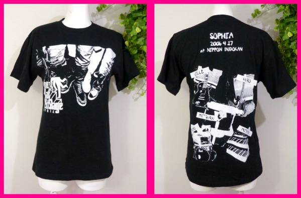 SOPHIAソフィア美品!Tシャツ超レア2006☆THE DAY OF NEXT STAGE