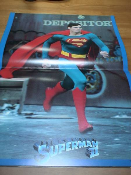 【映画 パンフ】『スーパーマン Ⅱ 冒険編』 クリストファー・リーブ アメコミ DC 1981_画像2