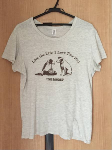 THE BAWDIES Live the Life I Love Tour 2011 Tシャツ サイズM