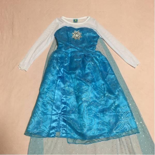 ハロウィン 子供用 ドレス アナと雪の女王 エルサ風 ディズニーグッズの画像