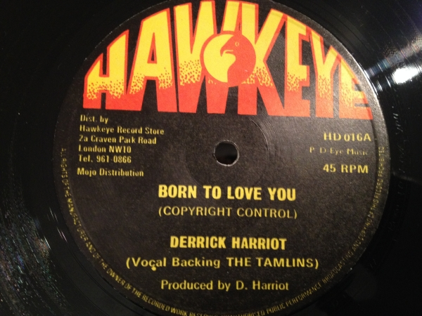 ■Derrick Harriot/Born To Love You■LOVERS ROCK鉄板名曲!_画像1