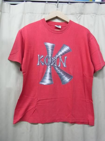 90's Korn コーン /ビンテージTシャツ/RED M