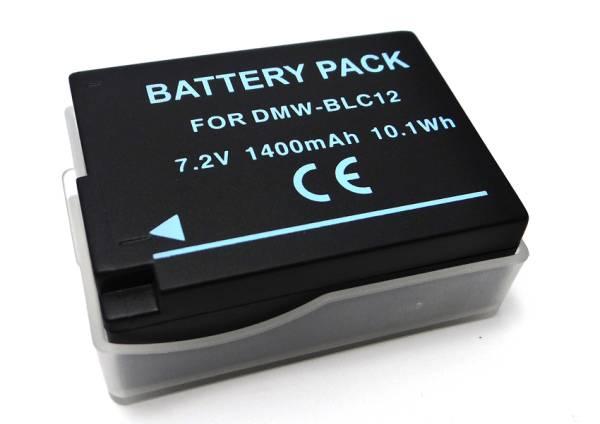 残量表示可 PANASONIC バッテリー DMW-BLC12 DMC-G6 / DMC-GX8H_画像1