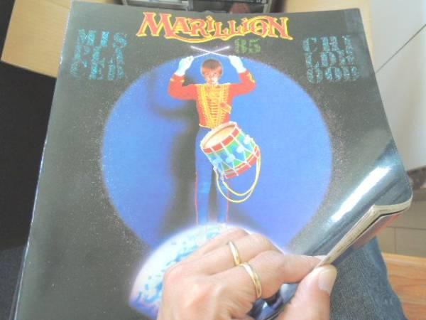 y/マリリオン,Marillion/1985 ツアーパンフ