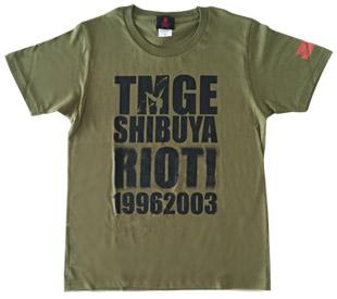 ★ミッシェルガンエレファント★SHIBUYA RIOT! Tシャツ TMGE