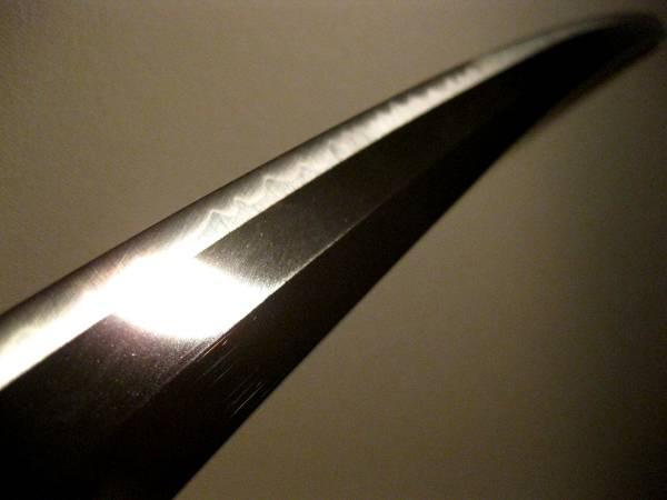 送料無料◆豪剣◆最高級居合刀【同田貫】ゴリゴリのボリューム鎬刀身 日本製 _画像2