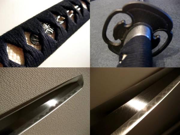 送料無料◆豪剣◆最高級居合刀【同田貫】ゴリゴリのボリューム鎬刀身 日本製 _画像3