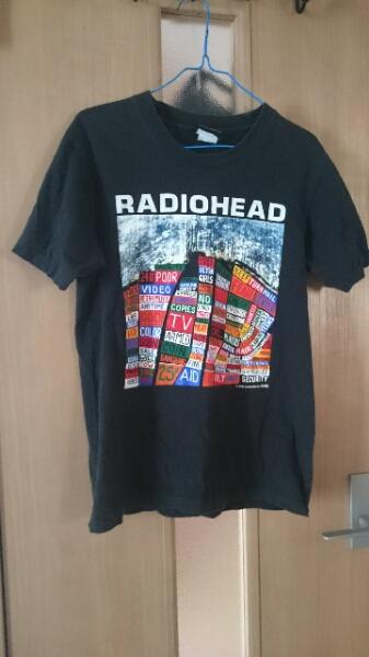 レディオヘッド Tシャツ バンドTシャツ サイズM