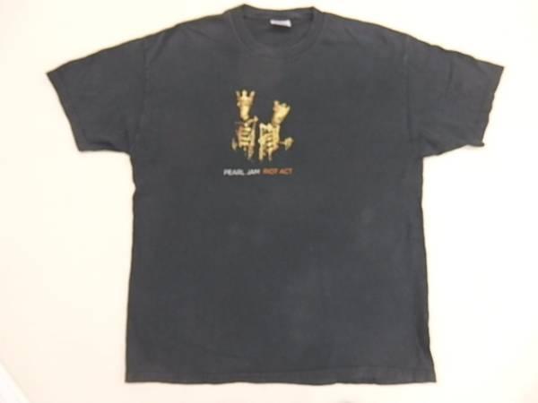 パールジャムPEARL JAM2003年ツアーTシャツ【XL】/バンドロック