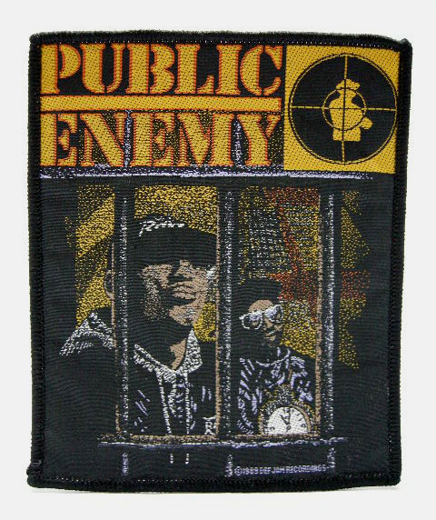 PUBLIC ENEMY 80'S VINTAGE デッドストック ヴィンテージ ワッペン N.W.A HOUSE OF PAIN RAIDERS SUPREME