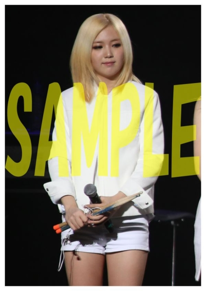AOA ユギョン 2013 FNC KINGDOM IN JAPAN 3/15/16 生写真5枚