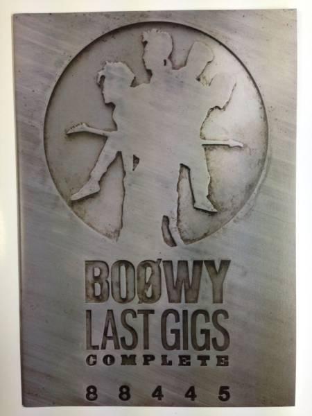 BOOWY「LAST GIGS COMPLETE」販促用の小冊子 非売品レアもの