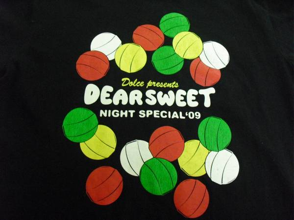 DEAR SWEET NIGHT Tシャツ (the band apart hawaiian6 出演)