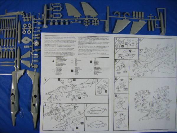 エアフィックス 1/72 ホーカー・シドレー・ハリアー GR Mk.3_画像3