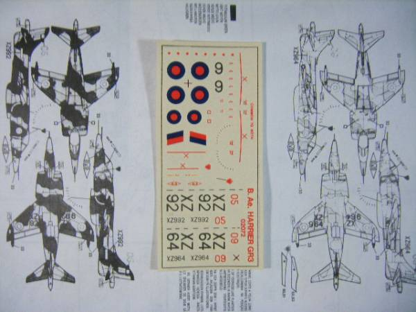 エアフィックス 1/72 ホーカー・シドレー・ハリアー GR Mk.3_画像2