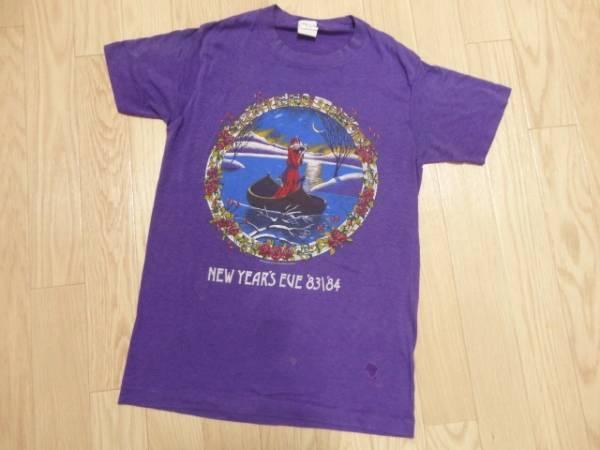 USA製 '83~'84 グレイトフルデッド ANVIL Tシャツ S ビンテージ レア 希少 ガルシア ダンシングベアー ヒッピー