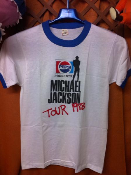 【極レア】正規品マイケルジャクソン ペプシツアー1988 旧タグM ライブグッズの画像