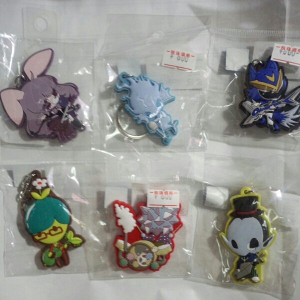 SHOW BY ROCK ラバーマスコット セット2 グッズの画像