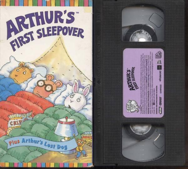 ★【ARTHUR'S】FIRST SLEEPOVE (VHSビデオ)