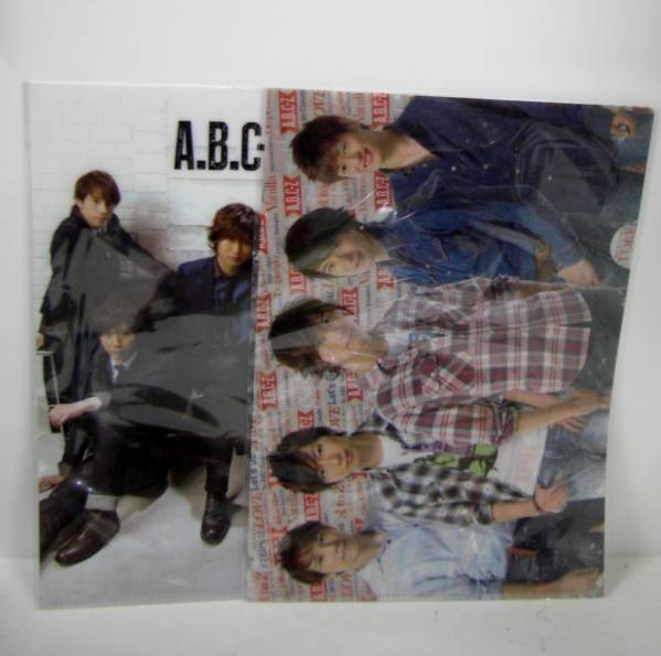 A.B.C-Z ABCZ from ABCtoZ クリアファイル2枚セット