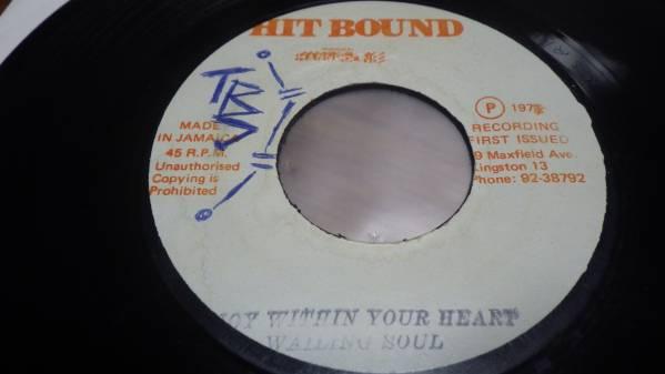 7inch org wailing soul [joy within your heart] EX- 送185円 reggae レゲエ roots ルーツ vintage ビンテージ レコード オリジナル_画像1