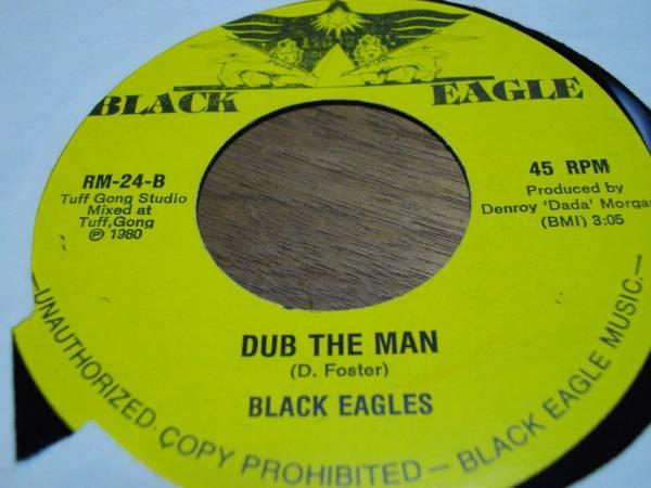 7inch org Black eagles [mountain man] 1980年 EX reggae レゲエ roots ルーツ vintage ビンテージ record レコード オリジナル アナログ_画像2