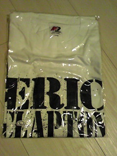 エリッククラプトン ジェフベック ビンテージ Tシャツ 限定  ライブグッズの画像