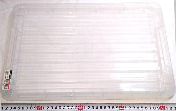 プラスチック半透明BOX 積み重ね可 ◆伝振動板★同梱お得★ ★鄭11亠_画像3