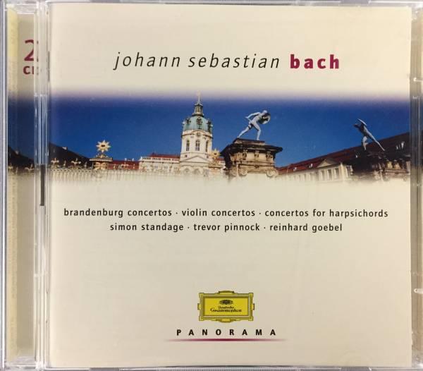 2CD/ バッハ:ブランデンブルク協奏曲他 / ゲーベル、ピノック