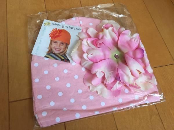 新品★ジェイミーレイハット お花ハット帽子 出産祝い8m~3Y_画像1