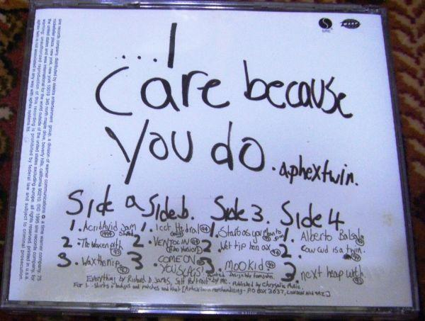 Aphex Twin/ ...I Care Because You Do★エイフェックス・ツイン_画像3