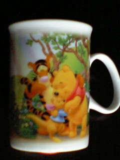 ★ くまのプーさんのマグカップ ★2個迄対応可能 ディズニーグッズの画像