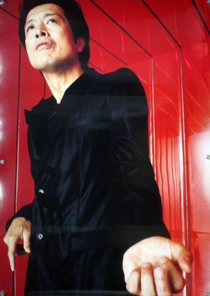 矢沢永吉 EIKICHI YAZAWA E.YAZAWA B2ポスター (1T17003)_画像1