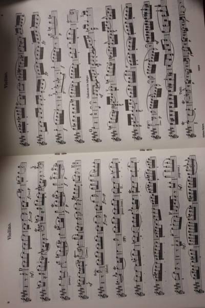 モーツァルト:バイオリン協奏曲第5番KV 219 ペータース社ピアノ伴奏付ソロ楽譜/マルトー編_画像3