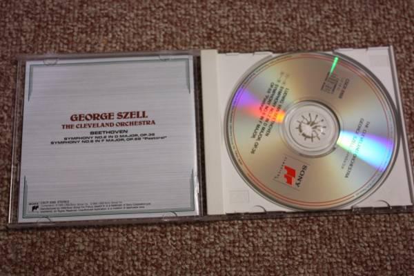 ルートヴィヒ・ヴァン・ベートーベン:交響曲第2番作品36/交響曲第6番作品68田園/クリーヴランド管弦楽団 指揮:ジョージ・セル/CBS SONY/CD_画像2