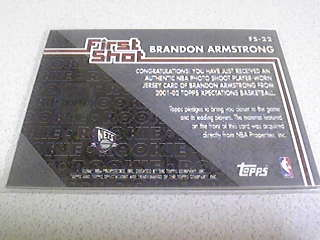 01 02 topps xpectations first shot b armstro ヤフオク