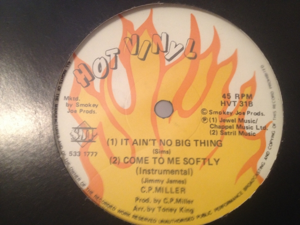 ★CP Miller/It Aint No Big Thing★REGGAE SYNTH FUNK?
